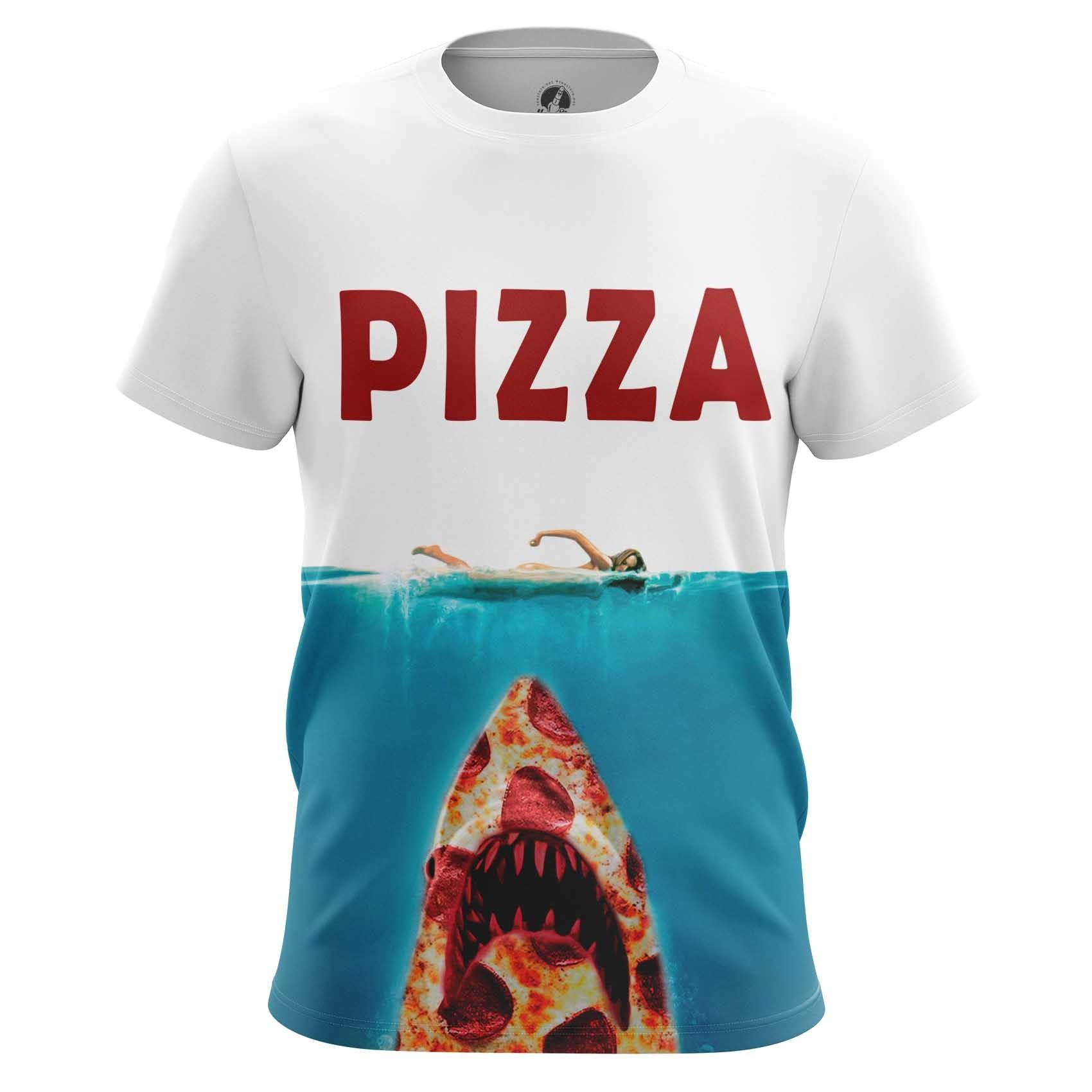 Merchandise Men'S T-Shirt Pizza Attacks Fun