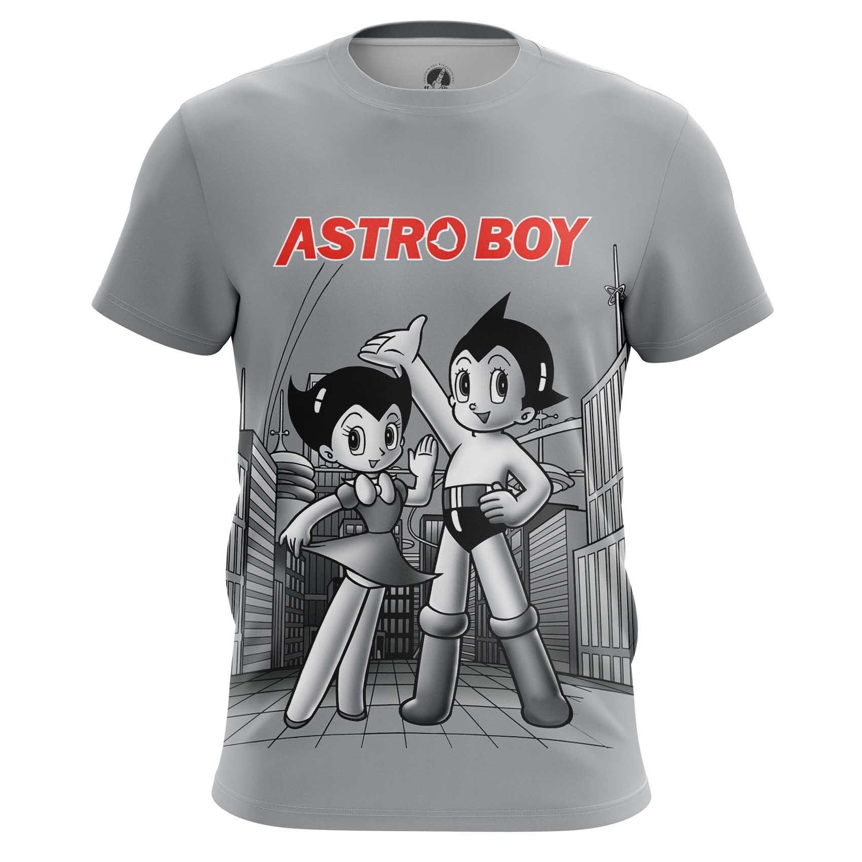 Merchandise T-Shirt Retro Astroboy Astro Boy Animated Series