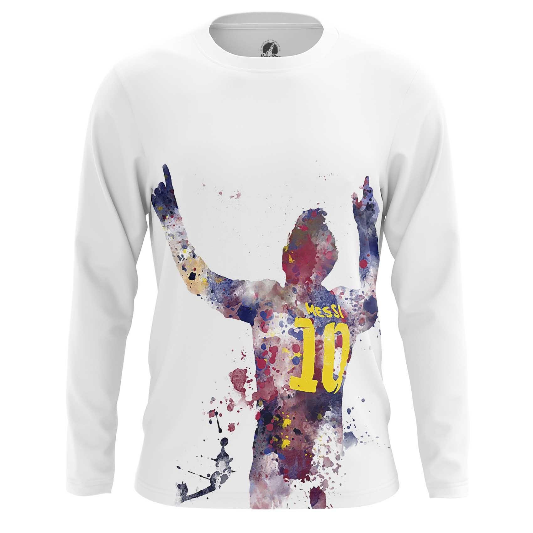 Merch Long Sleeve Lionel Messi Fan Art