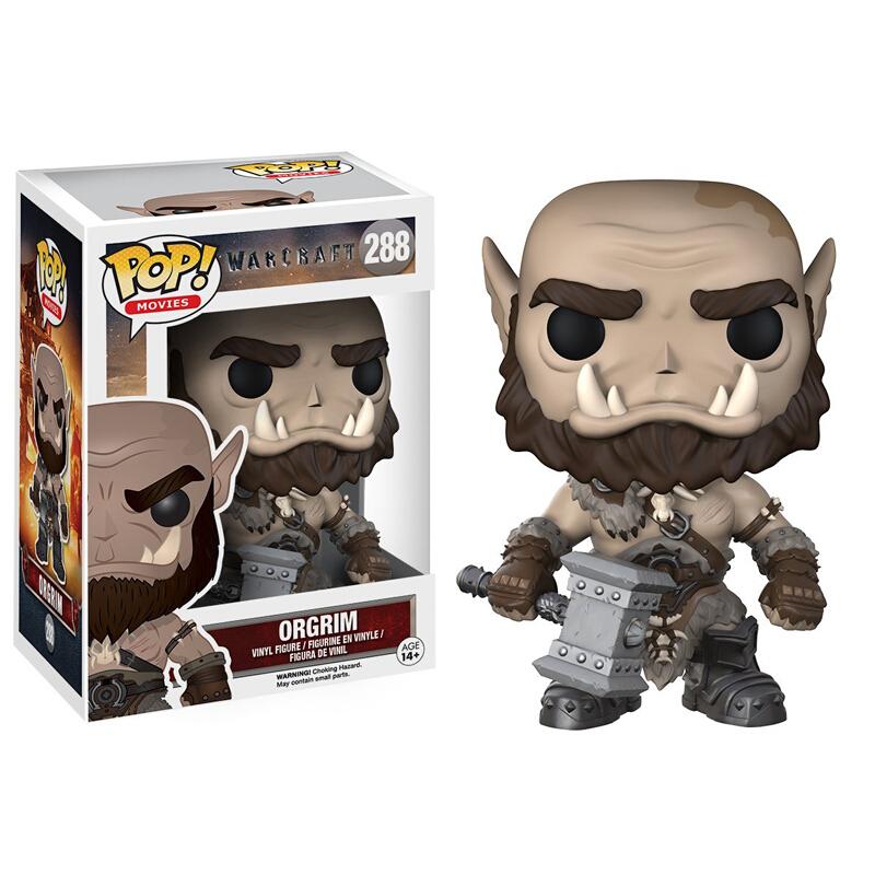 Merch Pop Movies Warcraft Orgrim Collectibles Figurines