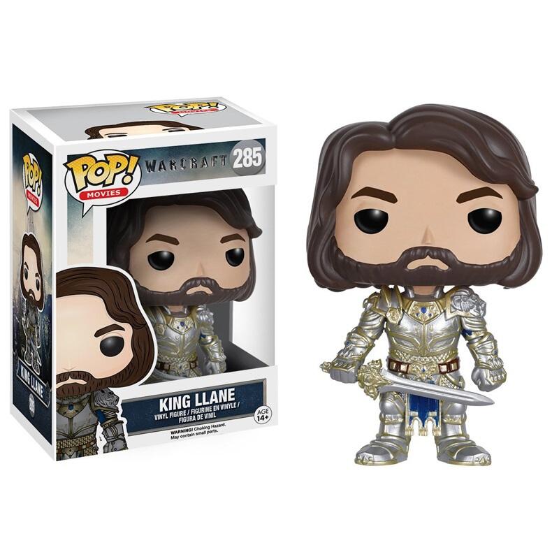 Merchandise Funko Pop Movies Warcraft King Llane Collectibles Figurines