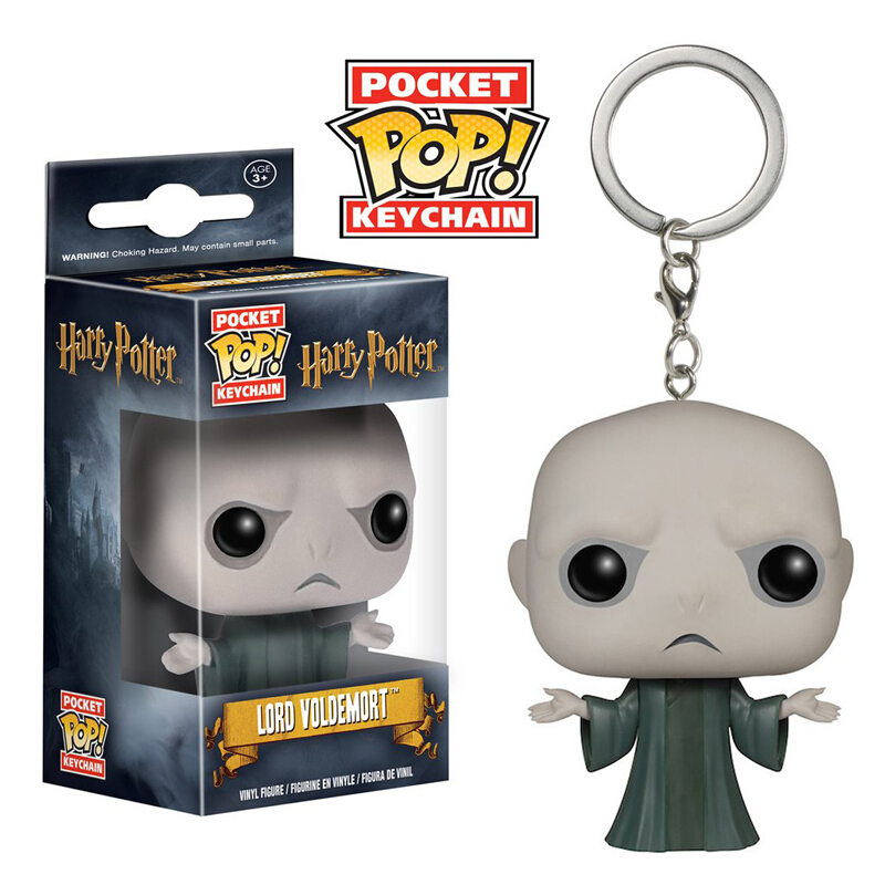 Collectibles Pop Keychain Harry Potter Voldemort Collectibles Figurines
