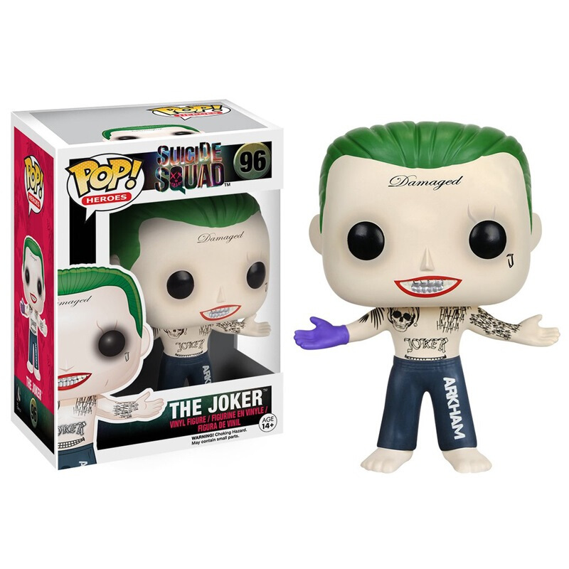 Collectibles Pop Movies Suicide Squad Joker Shirtless Collectibles Figurines