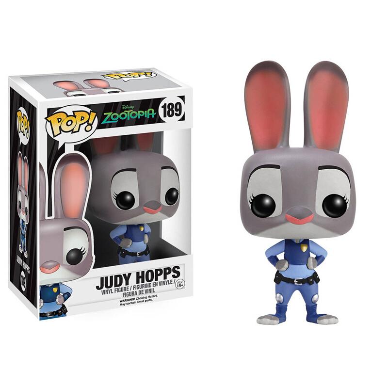 Merch Pop Disney Zootopia Judy Hopps Collectibles Figurines