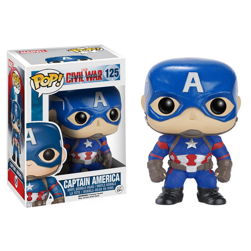 Merchandise Pop Marvel Captain America 3 Civil War Captain America Collectibles