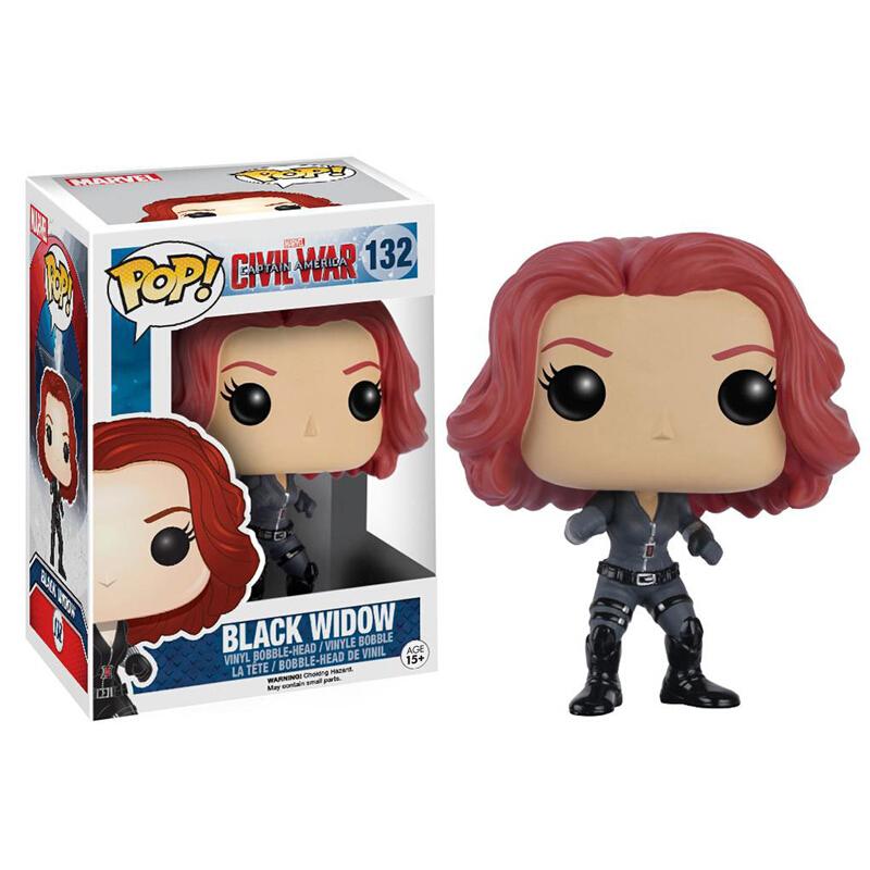 Collectibles Pop Marvel Captain America 3 Civil War Black Widow Collectibles