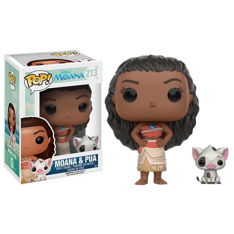 Merchandise Pop Disney Moana Moana &Amp; Pua Collectibles Figurines