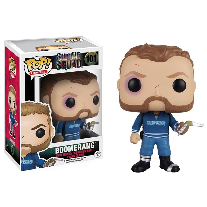 Collectibles Funko Pop Movies Suicide Squad Captain Boomerang Collectibles Figurines