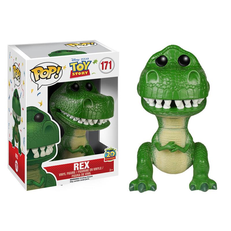 Merchandise Funko Pop Disney Pixar Toy Story Rex Collectibles Figurines