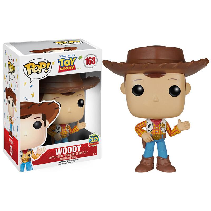 Merchandise Pop Disney Pixar Toy Story Sheriff Woody Collectibles Figurines
