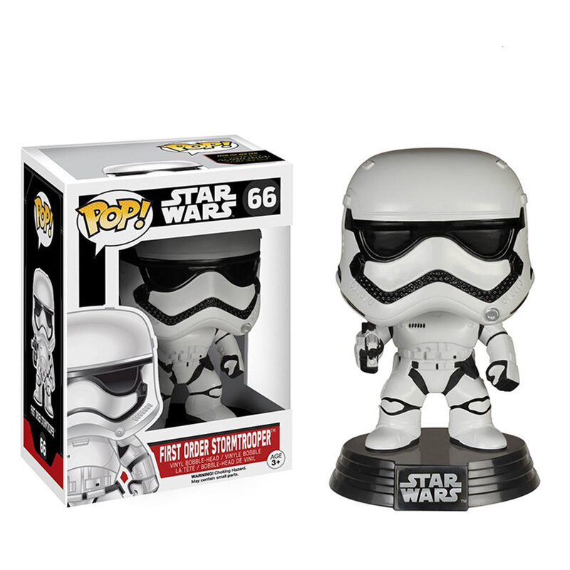 Merch Pop Star Wars Episode Vii The Force Awakens First Order Stormtrooper