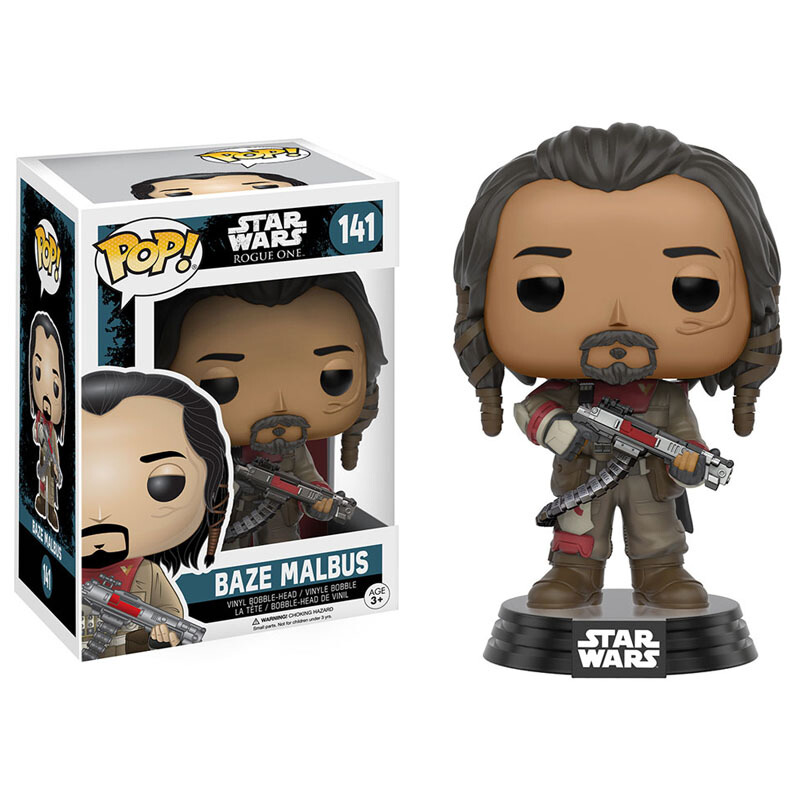 Collectibles Pop Star Wars Rogue One Baze Malbus Collectibles Figurines