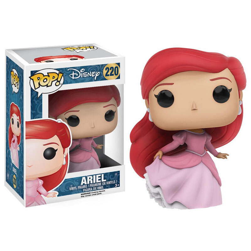 Merchandise Pop Disney The Little Mermaid Ariel Collectibles Figurines