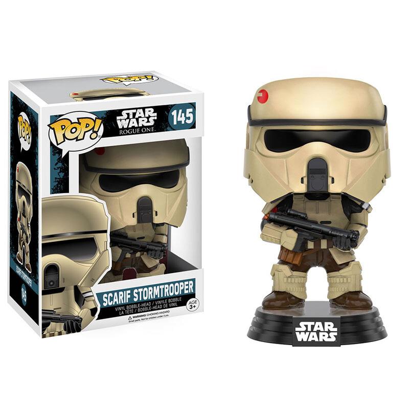 Merch Pop Star Wars Rogue One Scarif Stormtrooper Collectibles Figurines