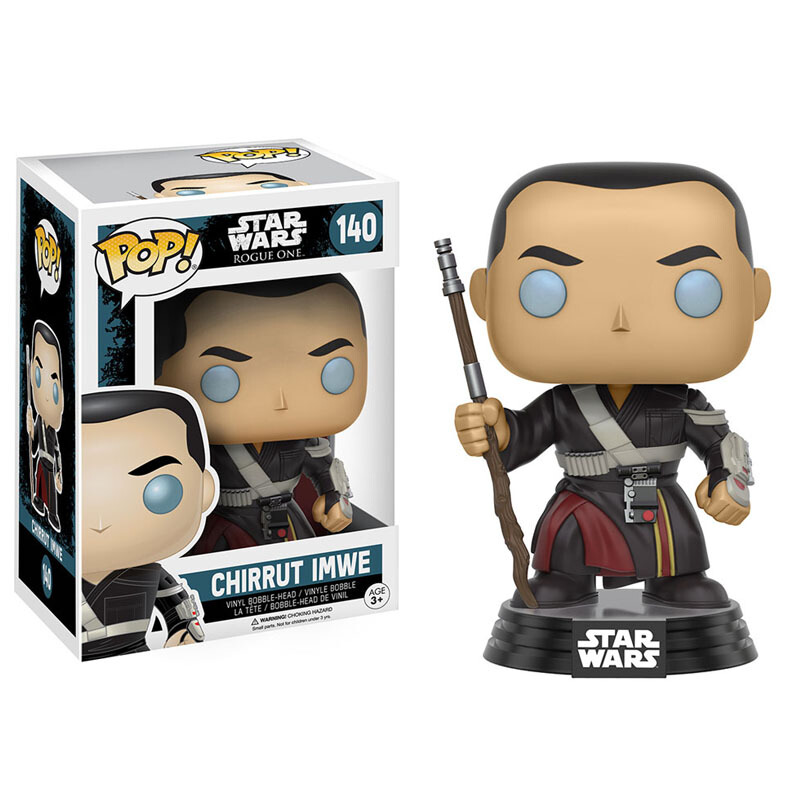 Merch Pop Star Wars Rogue One Chirrut Imwe Collectibles Figurines