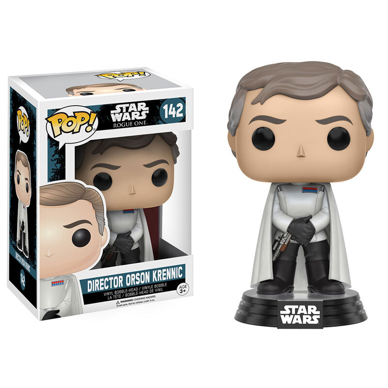 Collectibles Pop Star Wars Rogue One Director Orson Krennic Collectibles