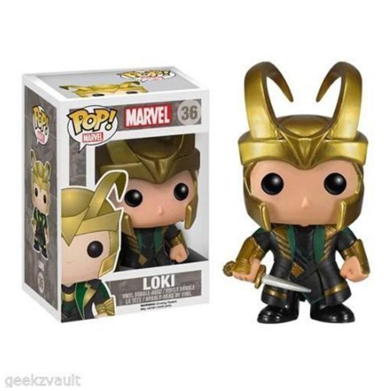 Collectibles Funko Pop Marvel Helmet Loki Collectibles Figurines