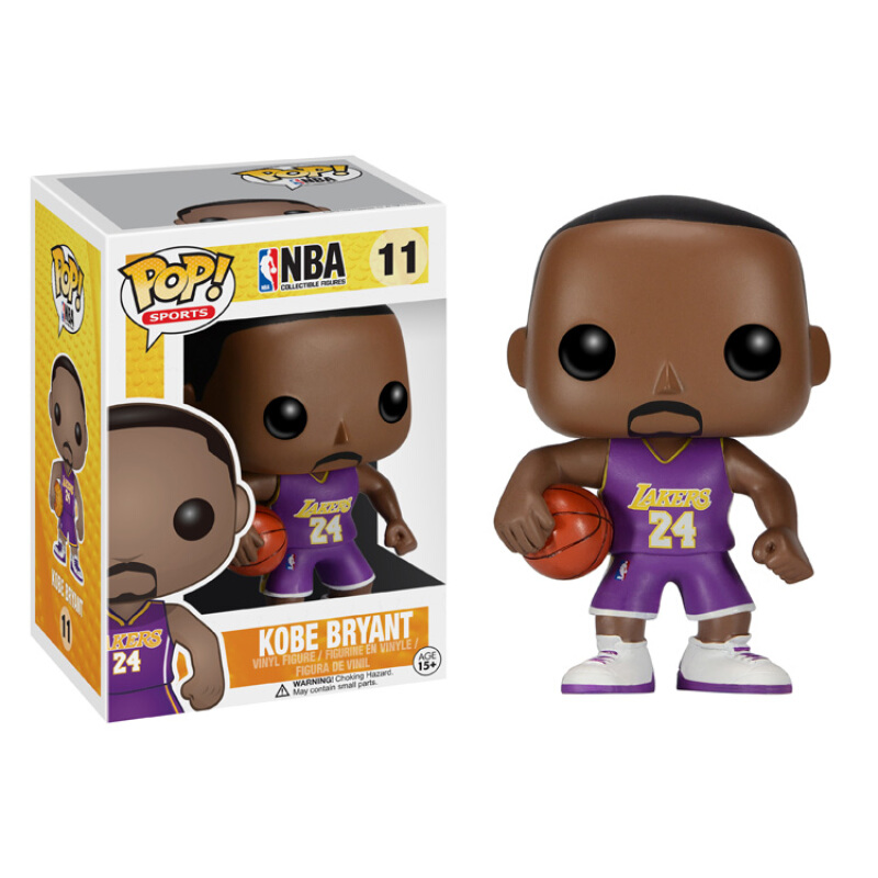 Merch Pop Sports Nba Kobe Bryant Visitor Color Collectibles Figurines