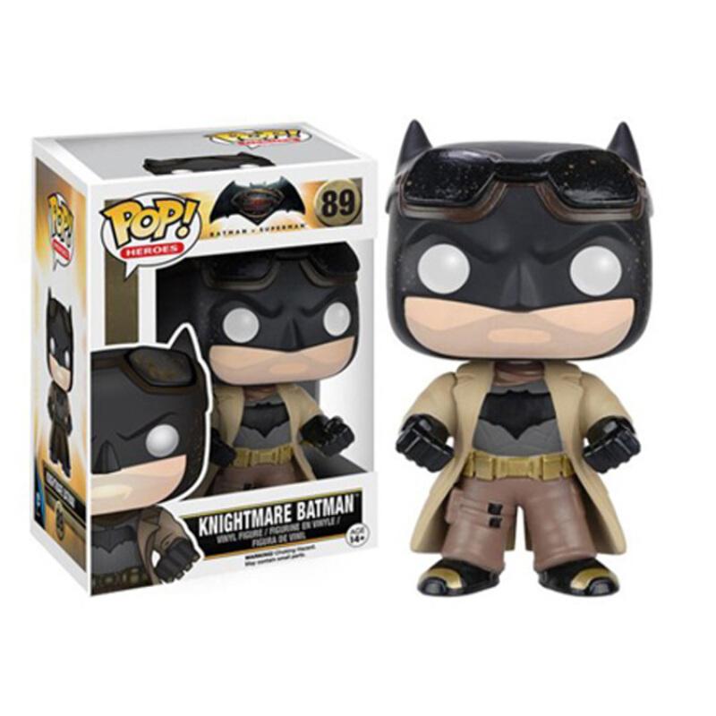 Merchandise Pop Heroes Batman Vs Superman Dawn Of Justice Knightmare Batman