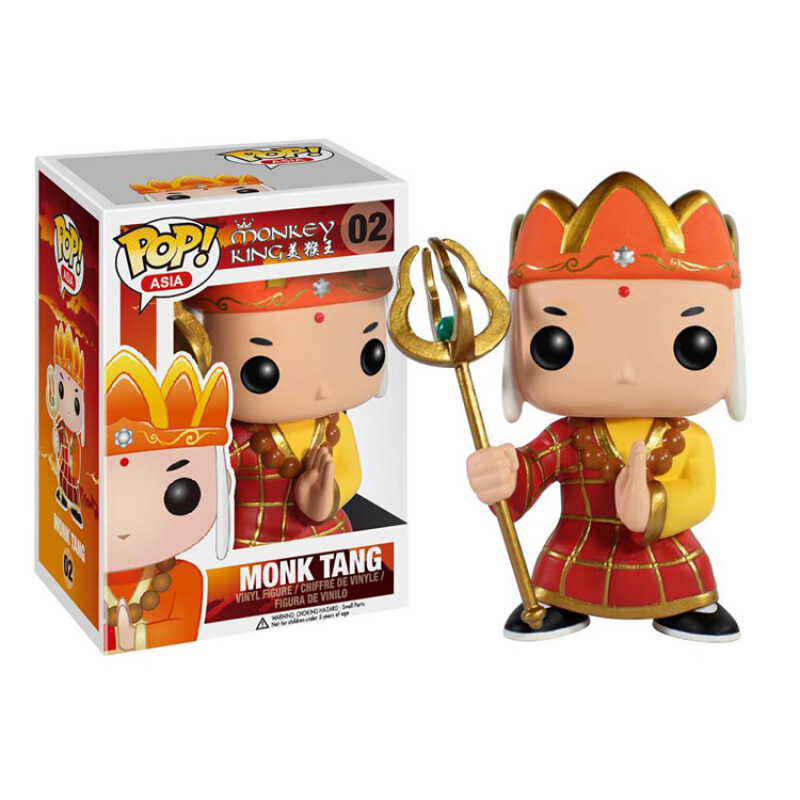 Merch Pop Asia Monkey King Monk Tang Collectibles Figurines