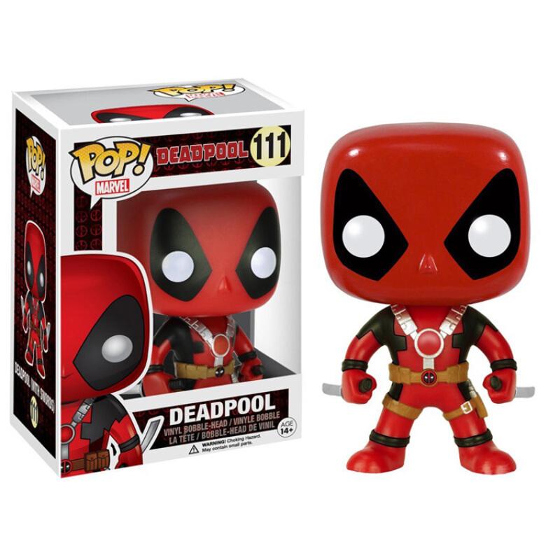 Merchandise Pop Marvel Deadpool Two Sword Collectibles Figurines