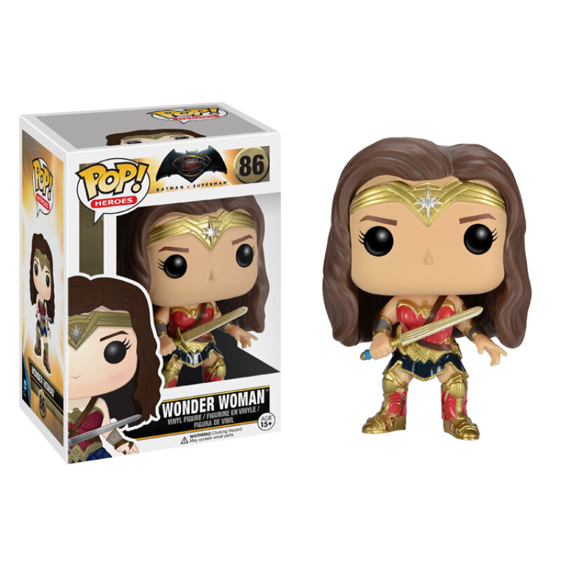 Merch Pop Heroes Batman Vs Superman Dawn Of Justice Wonder Woman
