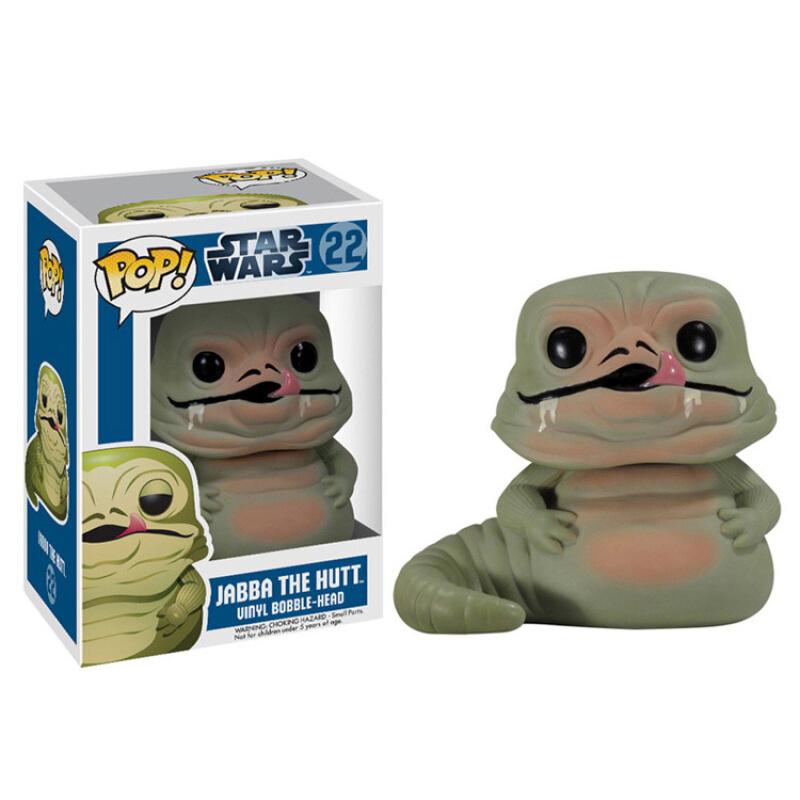 Merchandise Funko Pop Star Wars Jabba The Hutt Collectibles Figurines