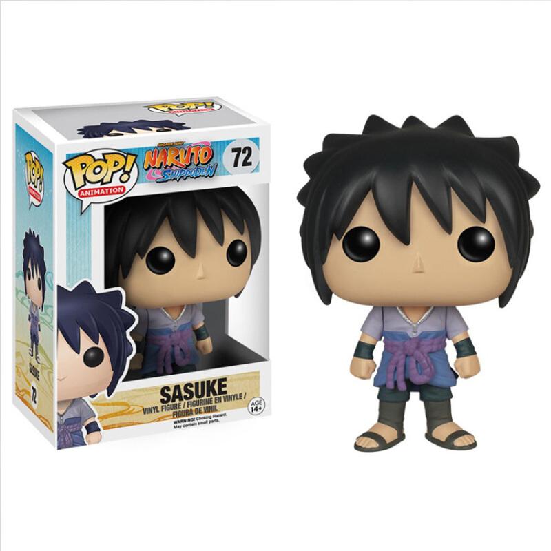 Merch Funko Pop Animation Naruto Sasuke Collectibles Figurines