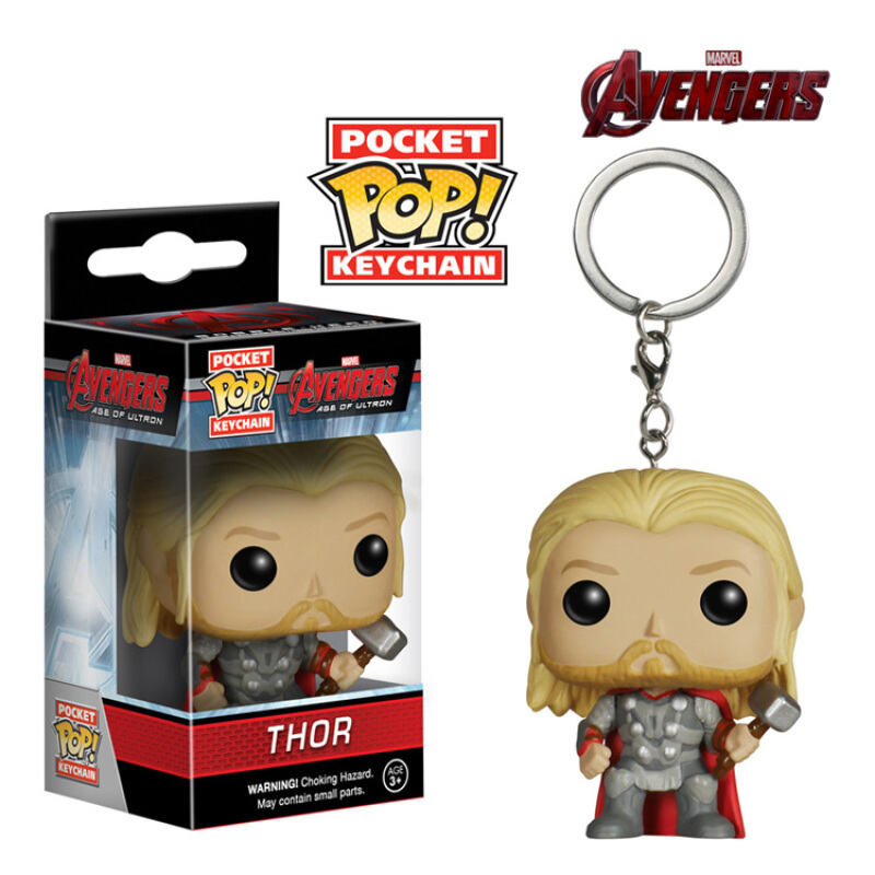 Collectibles Funko Pop Keychain Avengers Age Of Ultron Thor Collectibles Figurines
