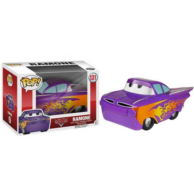 Merch Funko Pop Disney Pixar Cars Ramone Collectibles Figurines