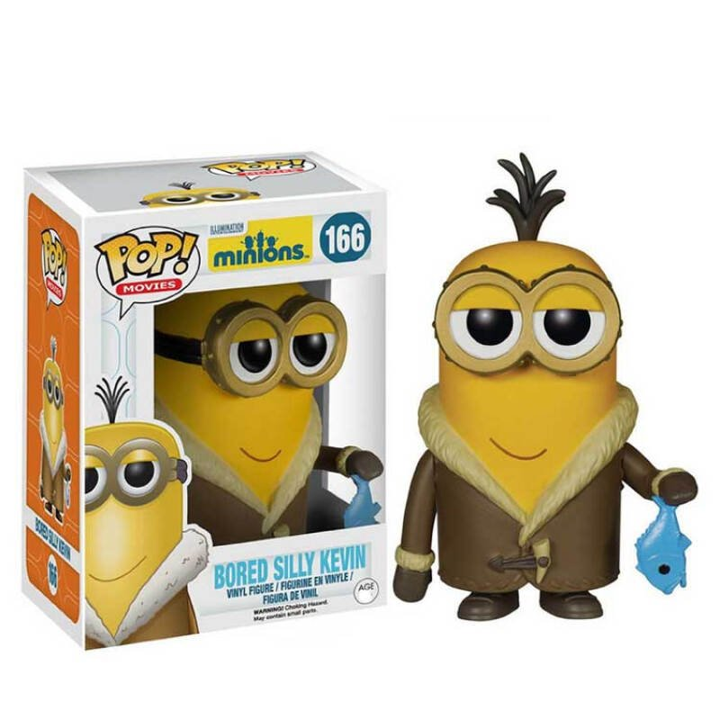 Collectibles Pop Bored Despicable Me Silly Kevin Collectibles Figurines