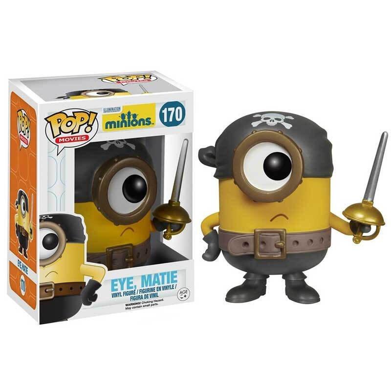 Merchandise Pop Despicable Me 2 Eye Matie Collectibles Figurines