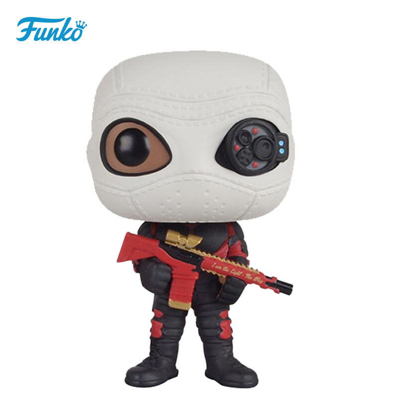 Merchandise Funko Pop Movies Suicide Squad Deadshot Masked Collectibles Figurines