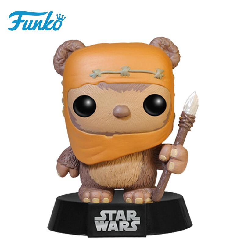 Merchandise Funko Pop Star Wars Ewok Wicket Collectibles Figurines