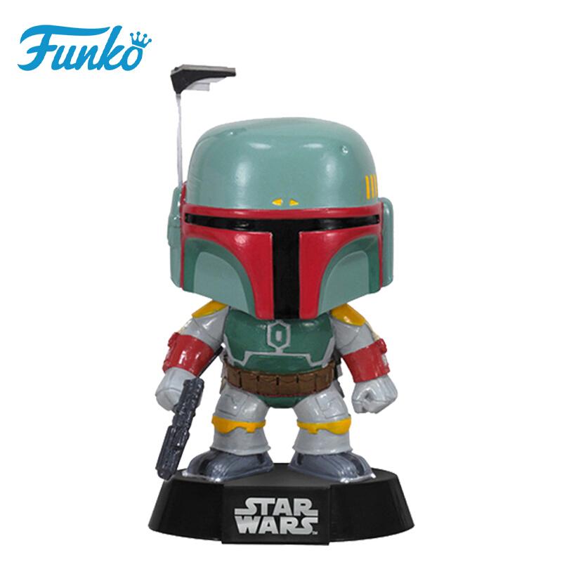 Merch Pop Star Wars Boba Fett Collectibles Figurines