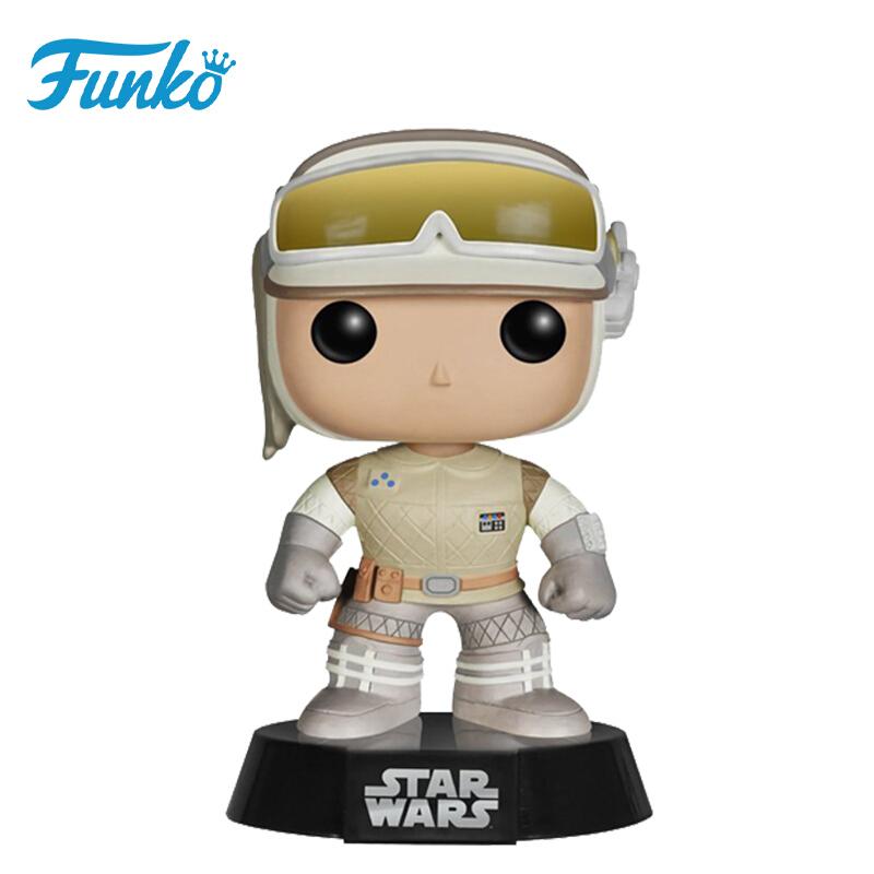 Merch Pop Star Wars Hoth Luke Collectibles Figurines