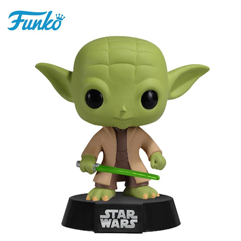 Merch Pop Star Wars Yoda Collectibles Figurines