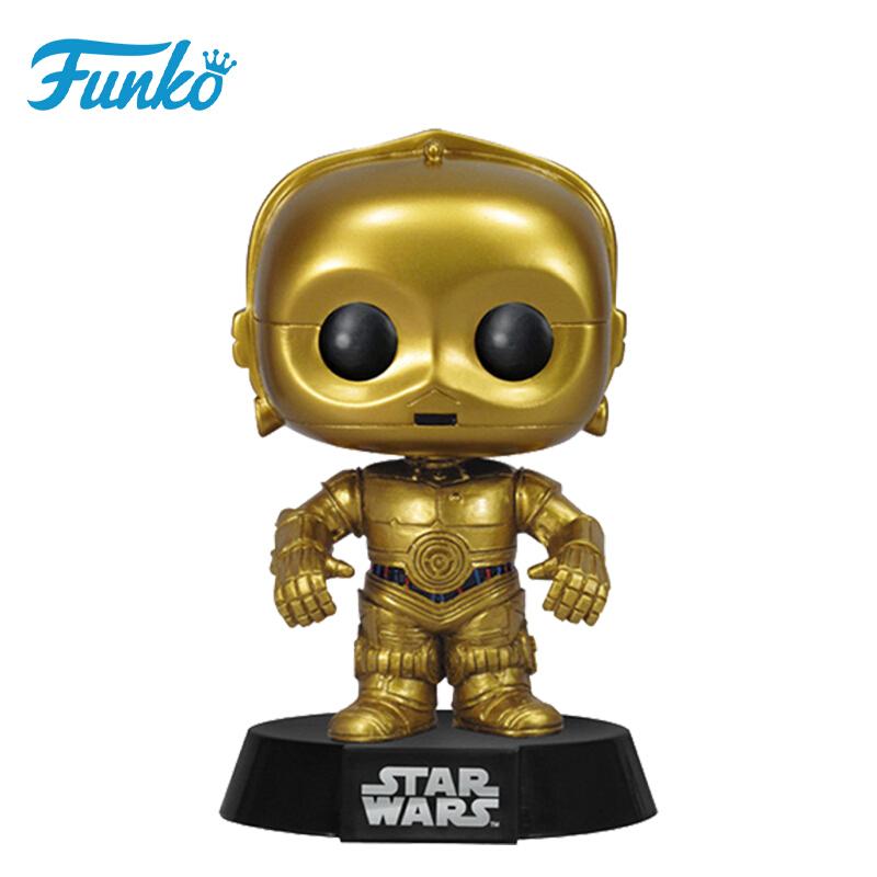 Merch Pop Star Wars C-3Po Collectibles Figurines
