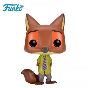 Merchandise Pop Disney Zootopia Nick Wilde Collectibles Figurines