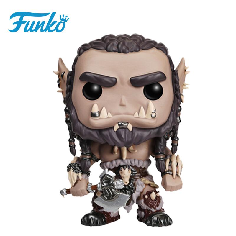 Merch Pop Movies Warcraft Durotan Collectibles Figurines