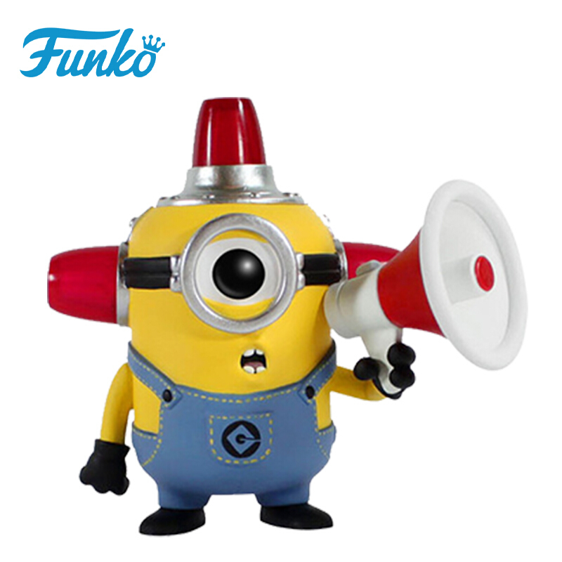 Merchandise Funko Pop Despicable Me2: Fire Alarm Minion Collectibles Figurines