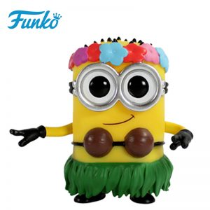 Merchandise Pop Despicable Me 2 Hula Minion Collectibles Figurines