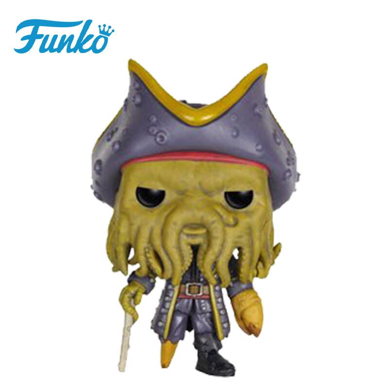 Merch Pop Disney Pirates Of The Caribbean Davy Jones Collectibles Figurines