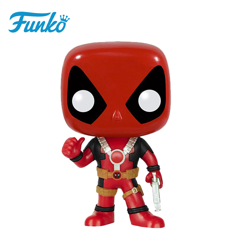 Collectibles Pop Marvel Deadpool Thumb Up Collectibles Figurines