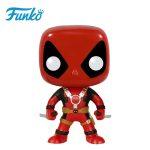 Merch Pop Marvel Deadpool Two Sword Collectibles Figurines