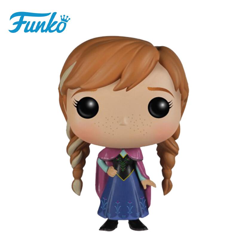 Merchandise Pop Frozen Anna Collectibles Figurines Disney