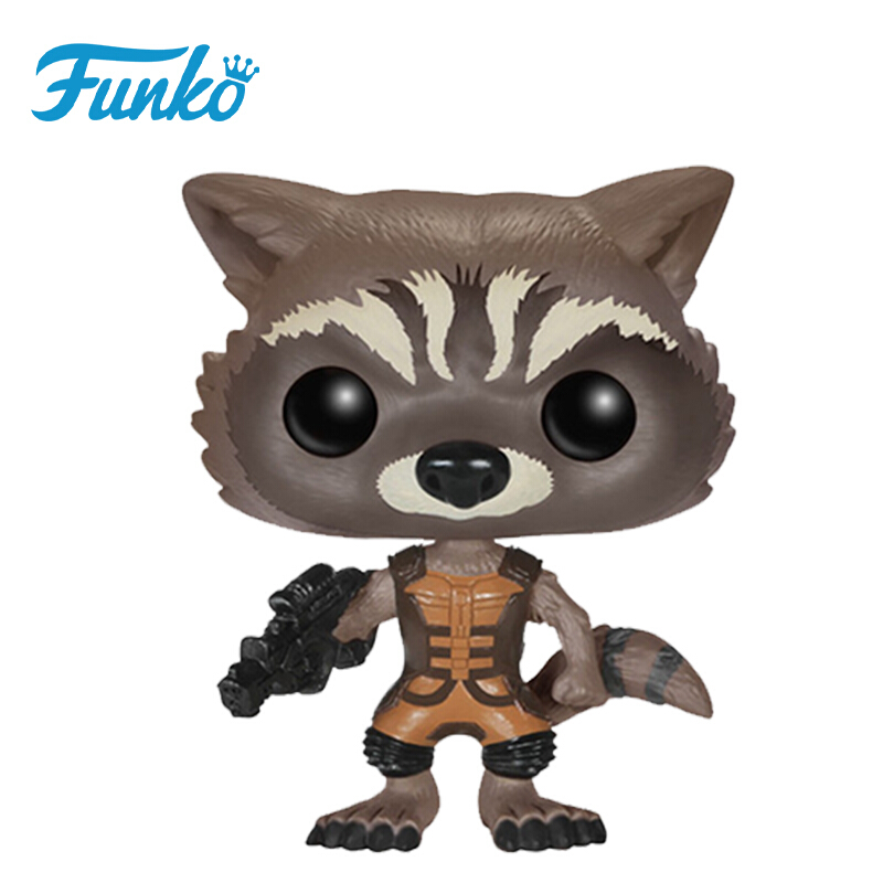 Merch Pop Guardians Of The Galaxy Rocket Collectibles Figurines