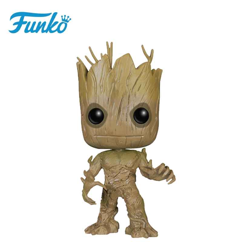Merchandise Pop Marvel Bobble Guardians Of The Galaxy Groot Collectibles Figurines