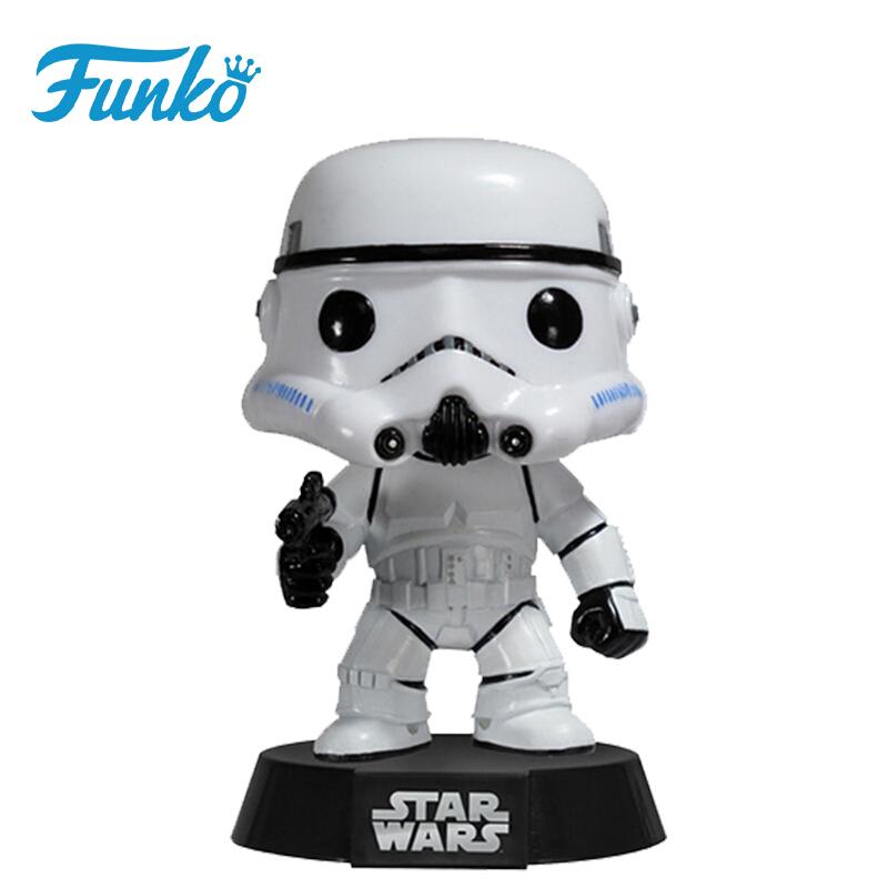 Merch Funko Pop Star Wars Stormtrooper Collectibles Figurines
