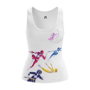 Merchandise Women'S Tank Power Rangers Vest